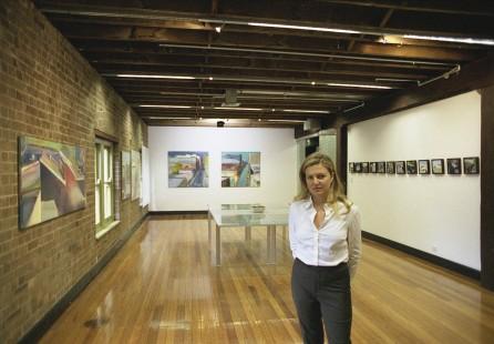 Installation photograph Saatchi & Saatchi Sydney 2004