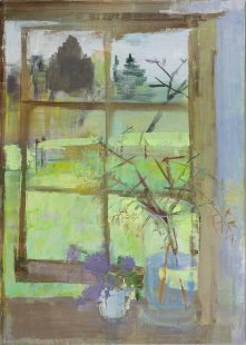 Studio Window, Bowman's Cottage 2018