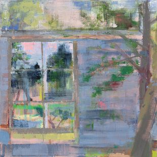 Studio Window with Hawthorn 2020